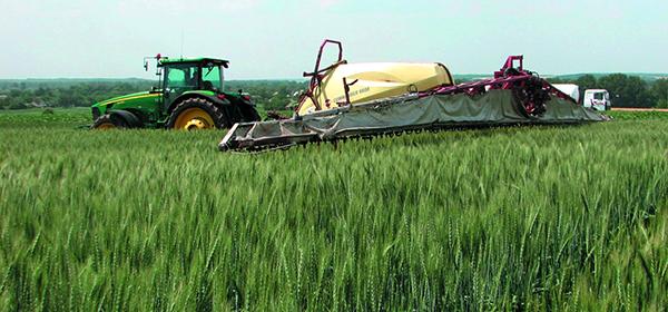 Листовая подкормка озимой пшеницы